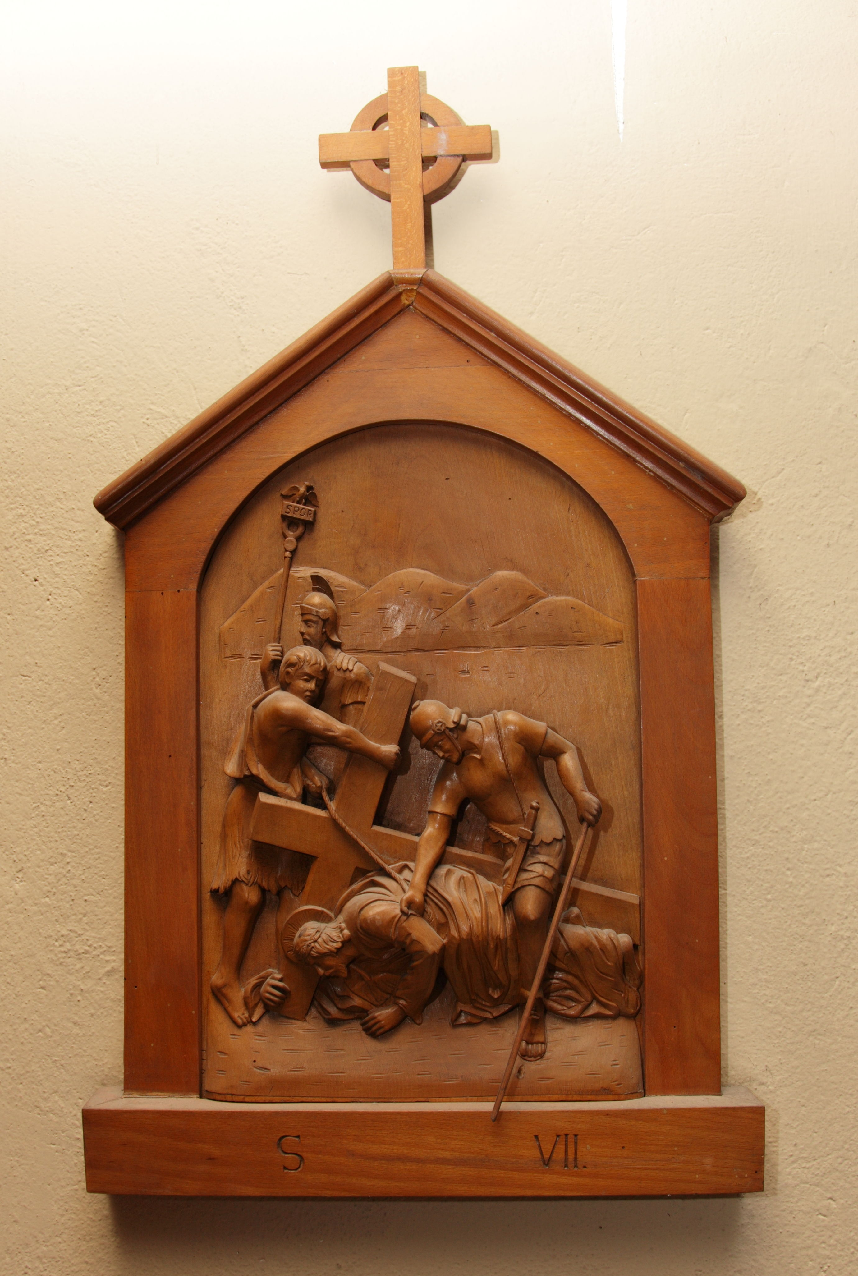 VII^ Stazione: Gesù cade per la seconda volta